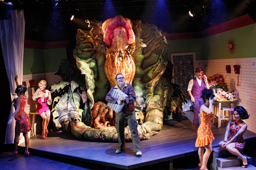 LITTLE-SHOP-OF-HORRORS-ENSEMBLE, Audrey II