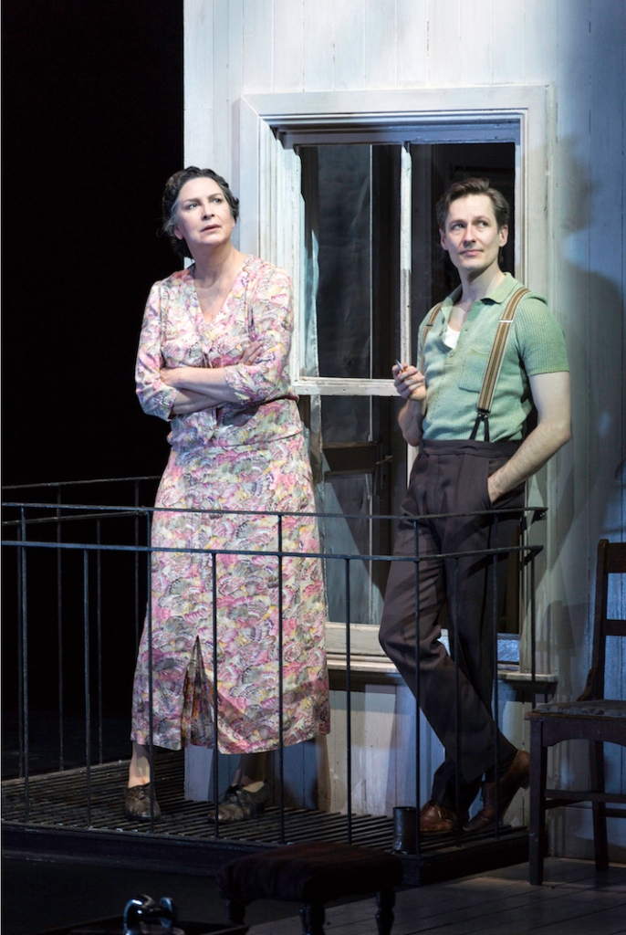 The Glass Menagerie, Malthouse, Belvoir, Pamela Rabe and Luke Mullins