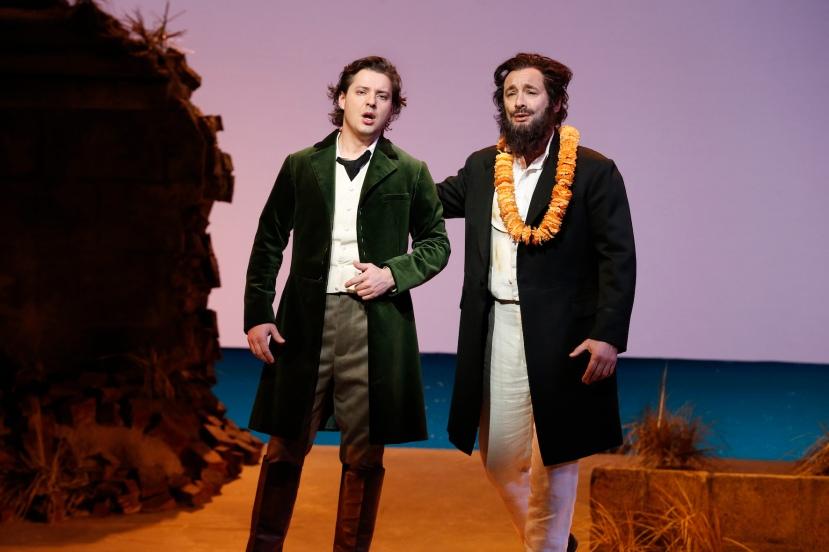 The Pearlfishers 2016 Opera Australia, Dmitry Korchak, Jose Carbo