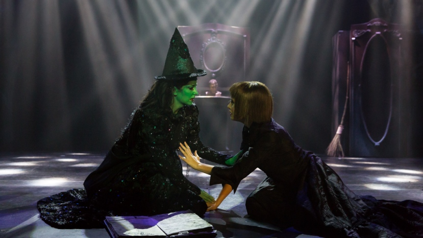 Wicked 2016 CLOC, Rosa McCarty as Elphaba, Grace Kingsford as Nessarose