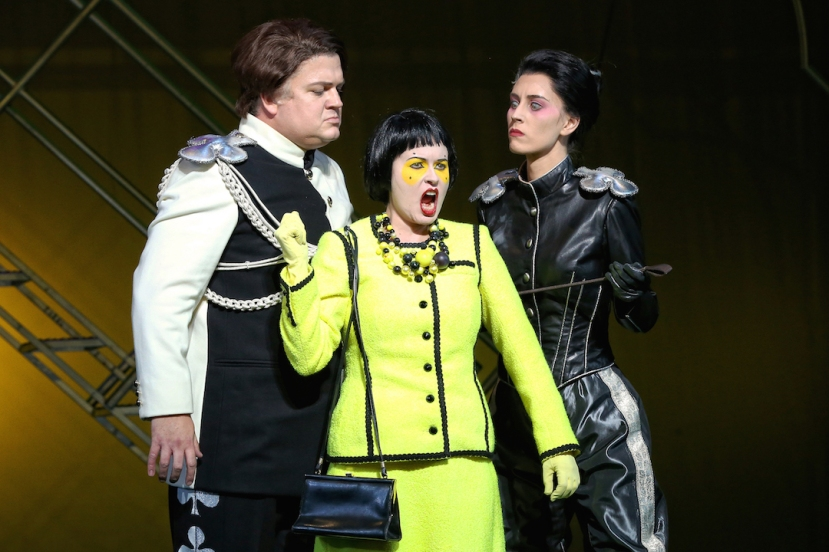 The Love for Three Oranges 2016 Opera Australia, Andrew Moran, Victoria Lambourn, Margaret Trubiano
