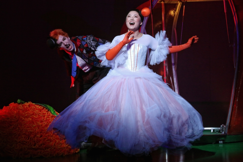 The Love for Three Oranges 2016 Opera Australia, Kanen Breen, Eva Kong