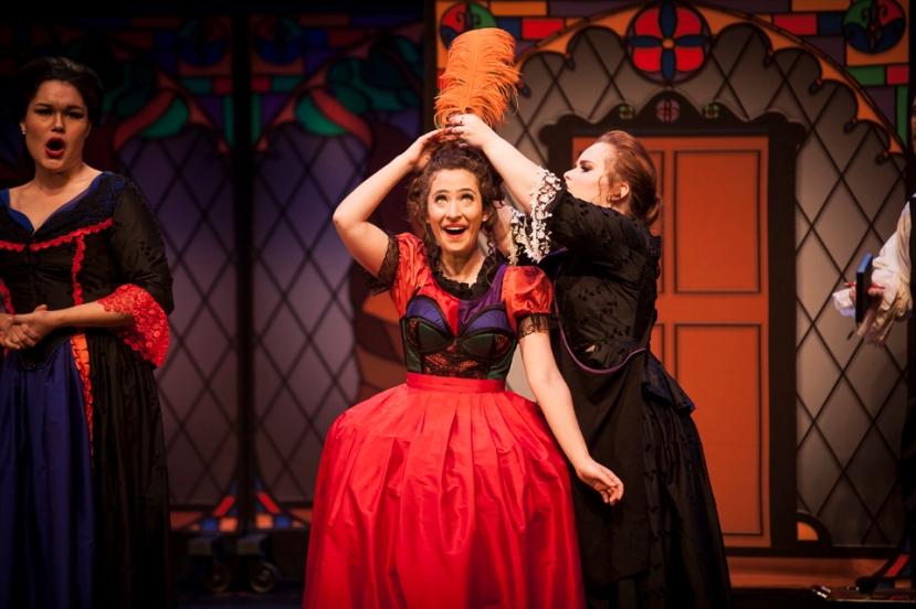 Cinderella 2016 Victorian Opera, Fleuranne Brockway, Cristina Russo, Elizabeth Barrow