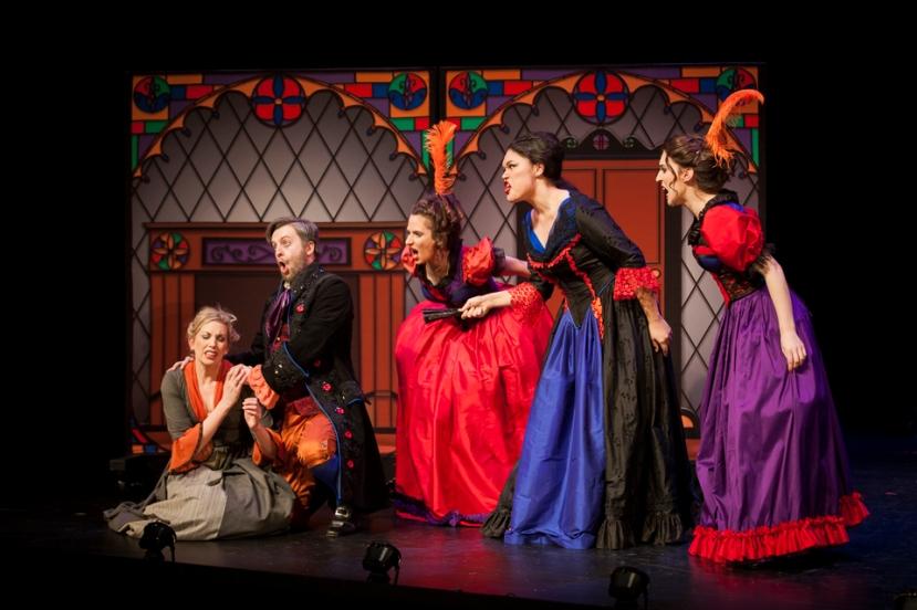 Cinderella 2016 Victorian Opera, Kate Amos, Daniel Carlson, Cristina Russo, Fleuranne Brockway, Shakira Tsindos