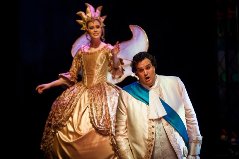 Cinderella 2016 Victorian Opera, Michelle McCarthy, Carlos E. Barcenas