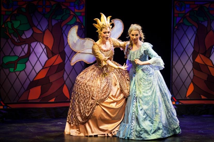Cinderella 2016 Victorian Opera, Michelle McCarthy, Kate Amos