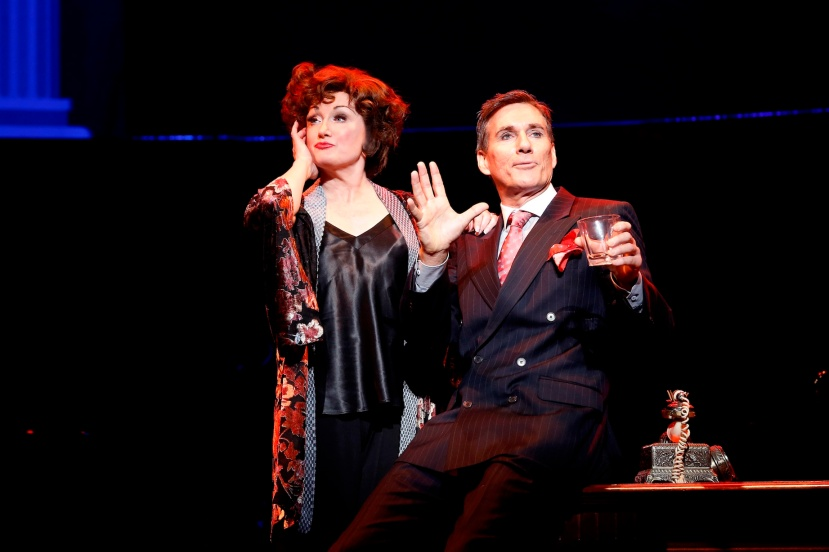 FUNNY GIRL 2016 The Production Company, Caroline O'Connor and David Hobson