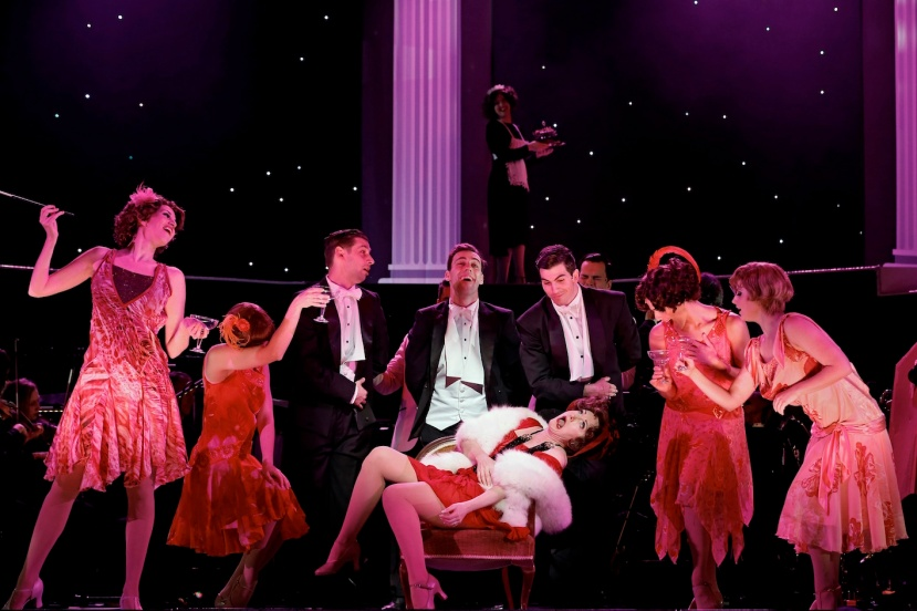 FUNNY GIRL 2016 The Production Company, Caroline O'Connor and Ensemble