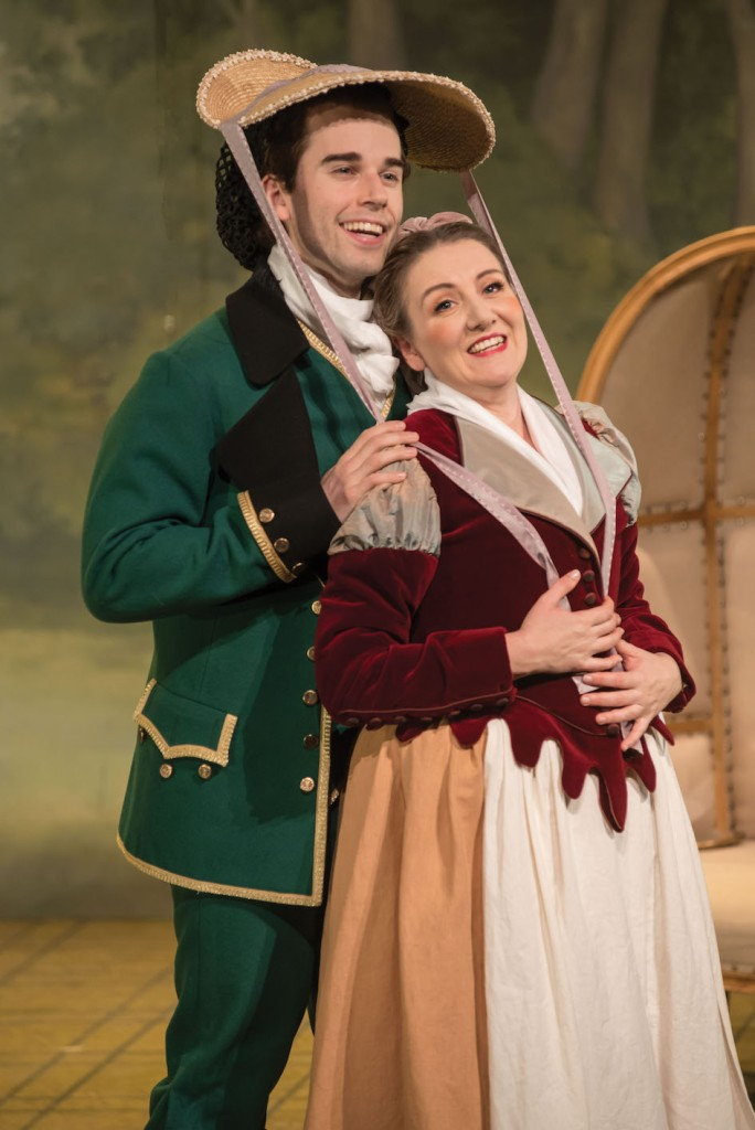 The Marriage of Figaro 2016 Opera Australia, Jeremy Kleeman, Celeste Lazarenko
