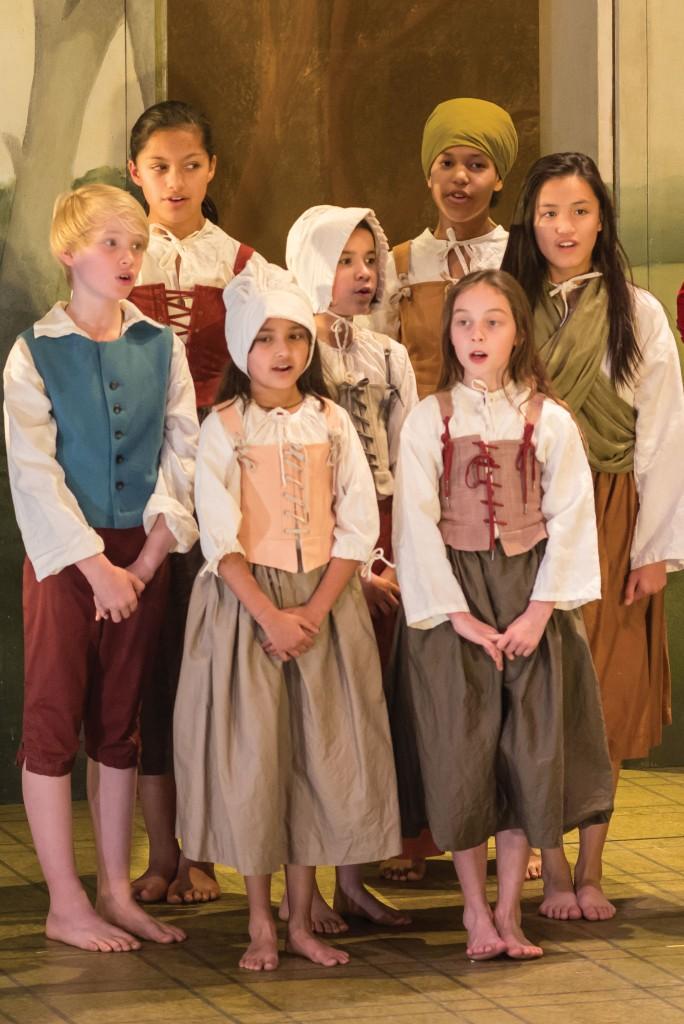 The Marriage of Figaro 2016 Opera Australia, Wooranna Park Primary School Regional Children's Chorus