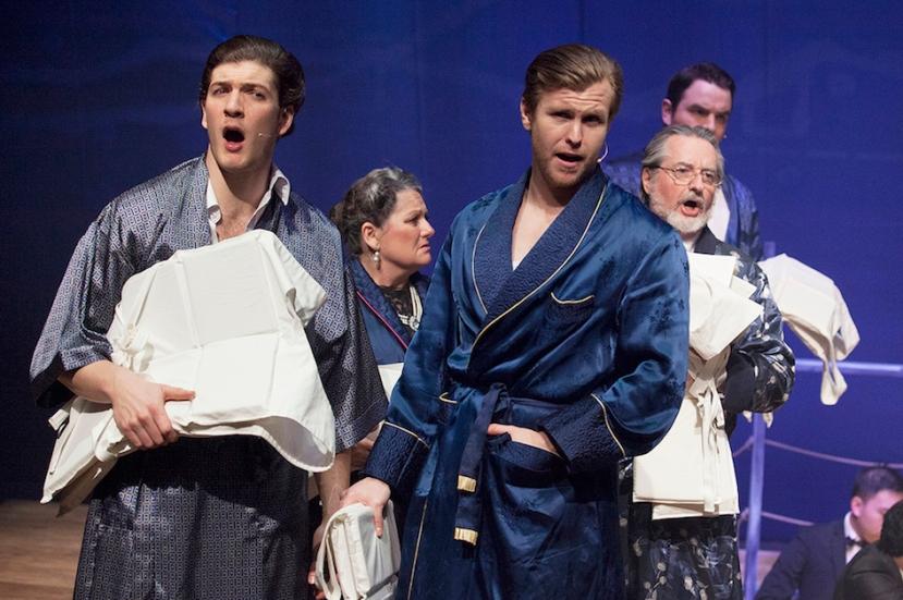 Titanic musical 2016 StageArt, Sam Bennett