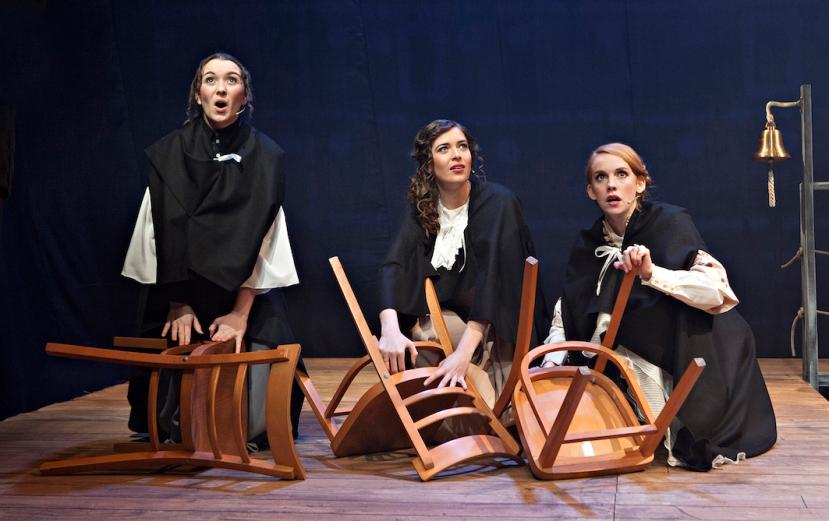 Titanic musical 2016 StageArt, Three Kates