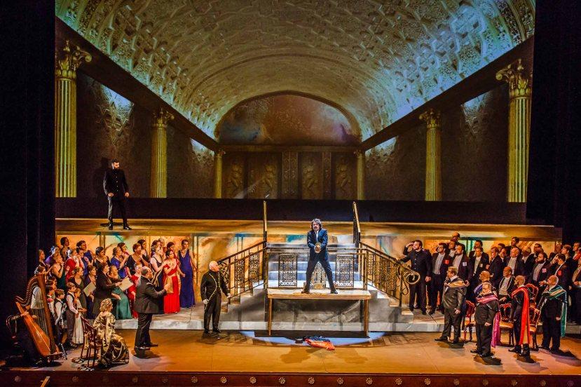 Tannhauser 2016 Melbourne Opera, Golden Hall, chorus, Marius Vlad