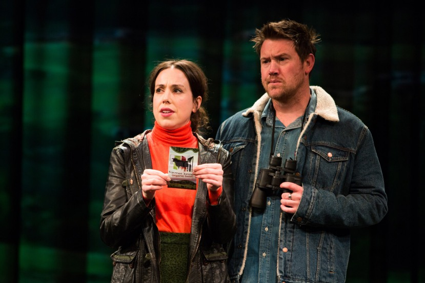 The Beast, Alison Bell and Eddie Perfect