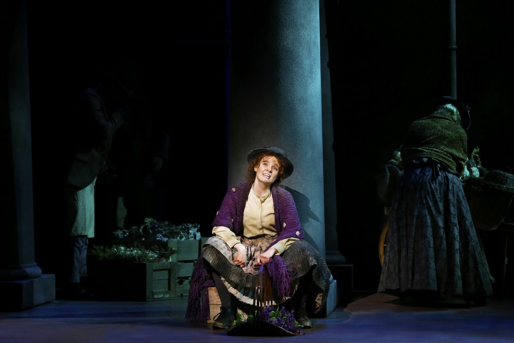 my fair lady review Lauren ambrose plays the cockney flower girl passed off as aristocracy by harry hadden-paton's phonetics scholar in the first broadway revival in 25 years of the.