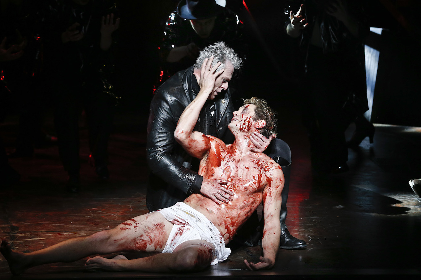 """jesus christ superstar John legend, tim rice and andrew lloyd webber made history sunday night when the threesome became egot winners as executive producers of """"jesus christ superstar live in concert""""."""