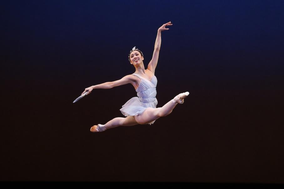 Symphony in C, The Australian Ballet, Diana and Acteon, Ako Kondosimonparrismaninchair