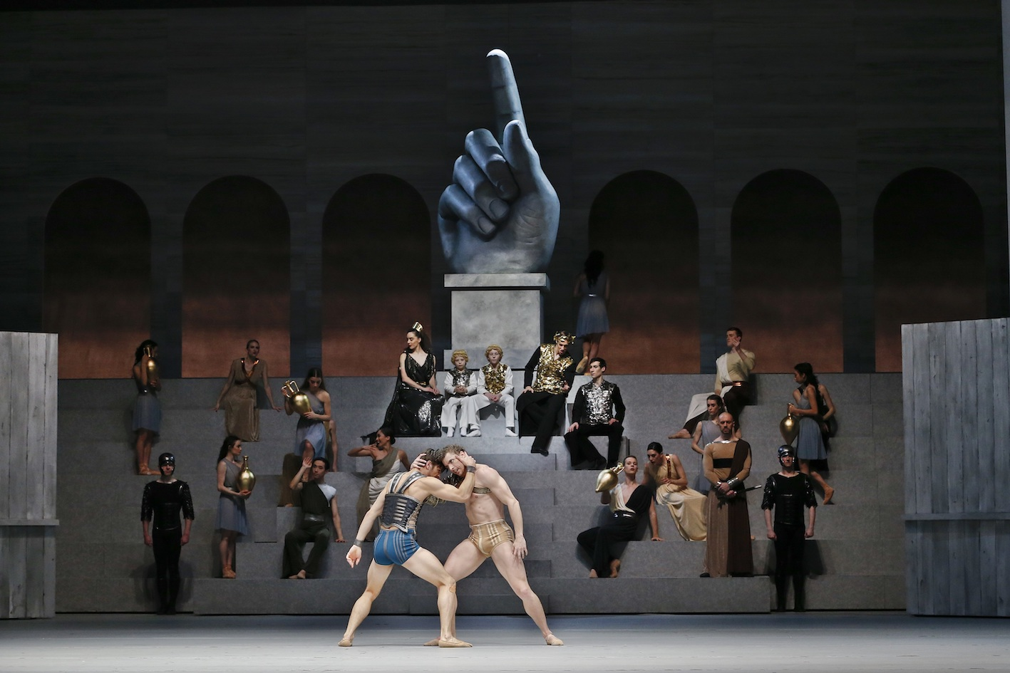 15c46a944 The Australian Ballet  Spartacus review – Simon Parris  Man in Chair