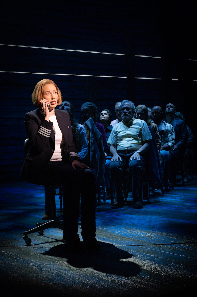 Come from Away review [Melbourne] – Simon Parris: Man in Chair